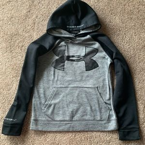 2 Girls Hoodies Nike and Under Armour